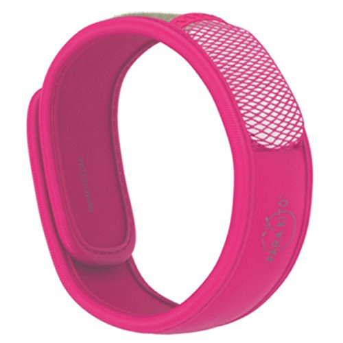 Parakito Mosquito Repellent Band - Colour : fuschia