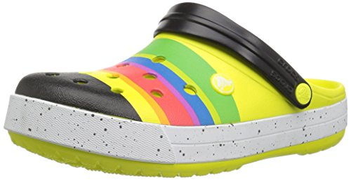 Crocs Unisex Crocband Color-Burst Clog