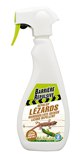 BARRIERE REPULSIVE Répulsif Lézards, Prêt à l'emploi, 500 ml, REPLEZ500