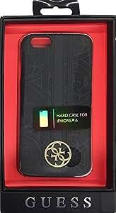 """Guess GUHCP6HEBK Coque rigide pour iPhone 6/6S - 4,7"""" Noir"""