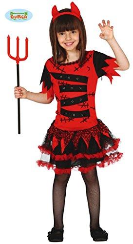 Kostüme Monster (Teufel Monster Kostüm für Mädchen Gr. 98-146,)