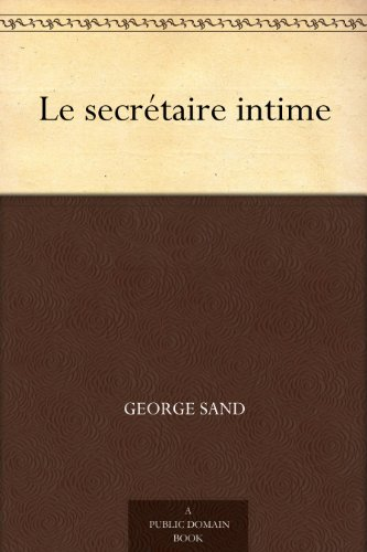 Couverture du livre Le secrétaire intime