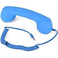 VBESTLIFE Rétro Combiné de Téléphone Portable Anti - rayonnement pour iphone6/6s/7/7s (blue)