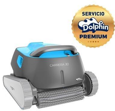 Dolphin Carrera 30 - Robot limpiafondos para piscinas (fondo y paredes)