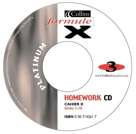 Formule X: Platinum Homework Audio CD Pack Level 3