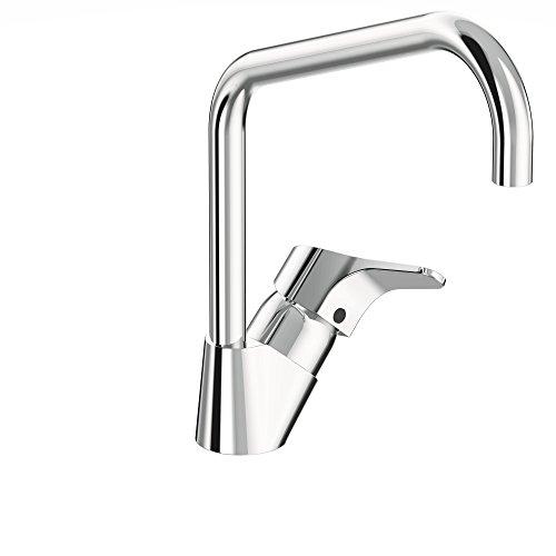 Vidima sevanext, stehend Einhebelmischer für Küche mit hoher Rohr Auslauf und Click Technologie, firmaflow, Hebel
