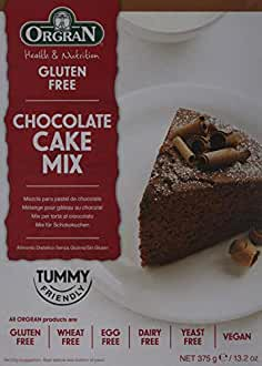 Orgran Chocolate Cake Mix en Caja - 375 gr