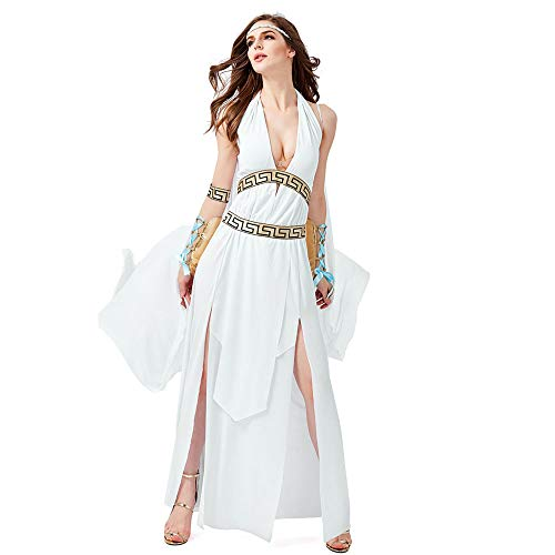 JJAIR Ägyptische Göttin Kostüm für Damen, Königin von Ägypten Kostüm Kostüme Altägypten Ägyptische Prinzessin (Sexy Ägyptische Prinzessin Kostüm)