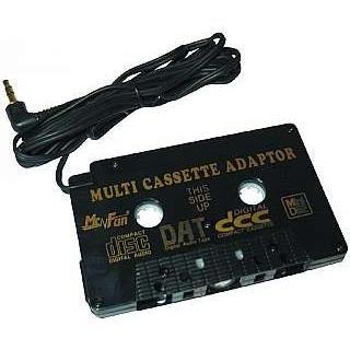 CD-Adaptercassette zum Anschluß von Discman, MP3 usw. an Autoradio