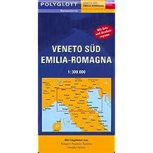 Polyglott Reisekarten : Veneto Süd, Emilia Romagna
