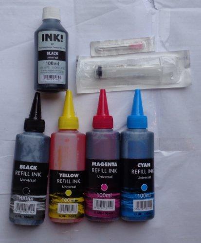 4-farben-100-ml-tinte-farbemittel-hp-pigment-bk-patronen-spritze-spritze-zum-nachfullen