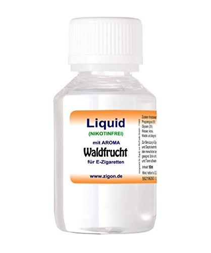 100 ml WALDFRUCHT ZigoN E-Liquid – MADE IN GERMANY – mit Nikotin 0,0mg – WALDFRUCHT