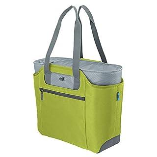 alfi 0007.278.812 Shopper isoBag M, Polyester, Apfelgrün, 23 L, inkl. herausnehbarer Kühltasche