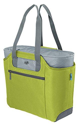 alfi 0007.278.812 Shopper isoBag M, Polyester, apfelgrün, 23 L, inkl. herausnehmbarer Kühltasche