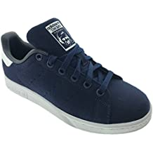 adidas Stan Smith W, Bianco/Blu, 36 EU