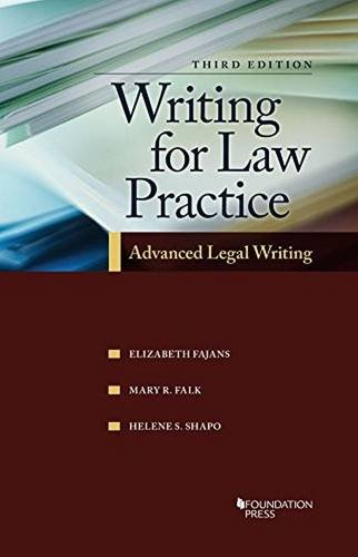 Writing for Law Practice (Coursebook)