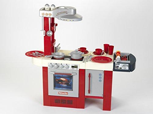 klein-Spiel Synthetische Gourmet Exclusive mit Grill Miele Küche mit Zubehör, 9088, rot Gourmet-becher