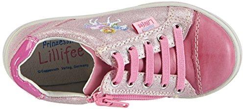 Prinzessin Lillifee 430637, Baskets Basses fille Rose - Pink (Fuchsia)