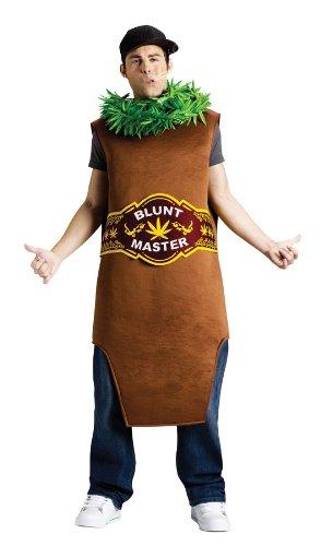 Unbekannt Marihuana-Joint-Kostüm für Erwachsene Blunt Meister