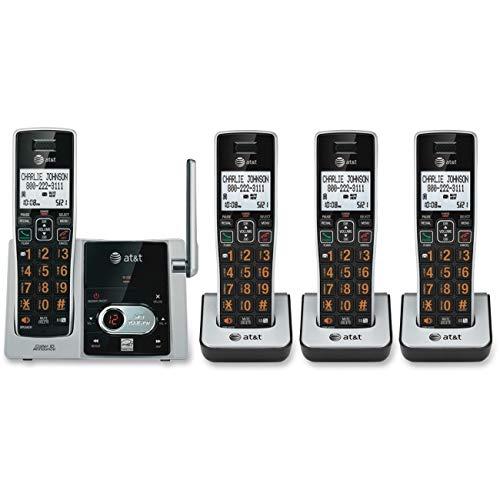 ATT 4 Handset Answering System CID - Cl82413 Att