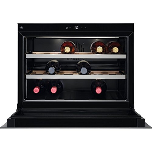 Aeg kwk 884520 m cantina vino incasso acciaio inossidabile 18 bottiglia/bottiglie cantinetta vino con compressore a++