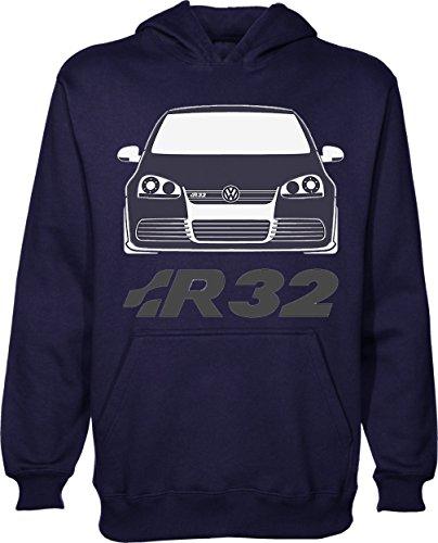 Golf R32 T-Shirt Unisex Pullover Hoodie X-Large (Golf-shirt Toten)
