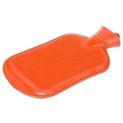 Goods & Gadgets Snoozy Qualitäts Wärmflasche XXL mit 2 Liter Volumen aus 100% Naturkautschuk