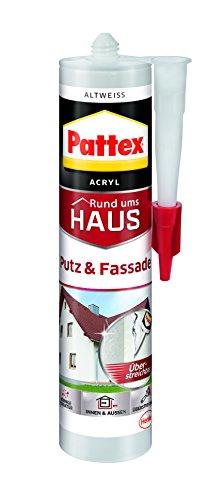 Pattex Putz und Fassade Acryl altweiß, PFFAA