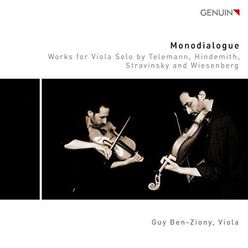 Monodialogue - Werke für Viola Solo