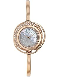Titan Raga Analog Mother of Pearl Dial Women's Watch-NK95003WM01