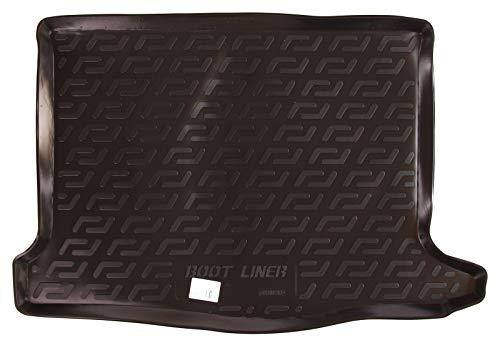 SIXTOL Auto Kofferraumschutz für die Dacia/Renault Sandero II Maßgeschneiderte antirutsch Kofferraumwanne für den sicheren Transport von Einkauf, Gepäck und Haustier