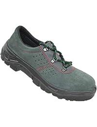 Iturri S1P SRC Seguridad Zapatos Zapatos de Trabajo Profesional de los Zapatos Medio Verde B-