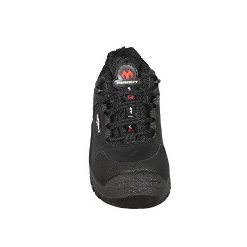 Aimont air chaussures de sécurité norme s3 sRC chaussures berufsschuhe businessschuhe plat noir Schwarz