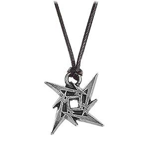 Alchemy Rocks Metallica Ninja Star Pendant Kette (Schwarz/Silber)