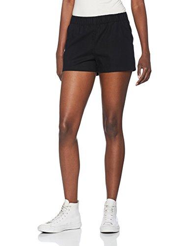 VERO MODA Damen Vmmilo Shorts Noos A, Schwarz (Black Black), 36 (Herstellergröße: S)