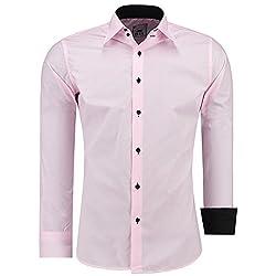Camisa para hombre de manga...