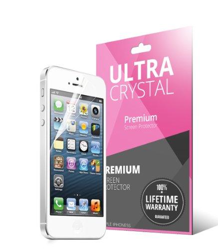 CellTo iPhone 5C Faux Leather Diary Flip Cover Case Hülle Tasche - Hot Pink - mit Kostenlos Schutzfolie ID Slots, Bill Fold, Magnetic Closure für Apple iPhone 5C PU Leder Black
