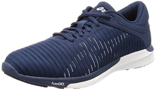 Asics Herren fuzeX Rush Adapt Laufschuhe Blau (Dark Bluewhitesmoke Blue 4901)