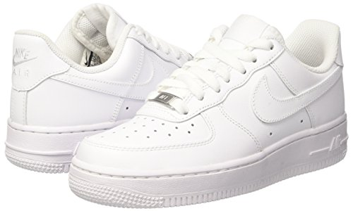 NIKE Women s Air Force 1 ´07 Low-Top Sneakers White – My Sporting Life 03d2779d56