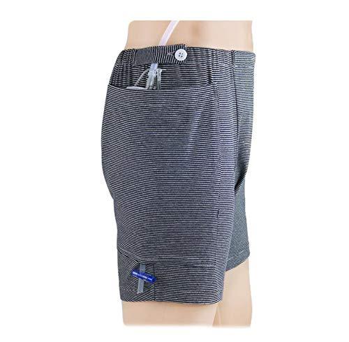 QQA Inkontinenzpflege Unterwäsche Soft Boxer zum Erwachsene, Einfach Auszugehen (Kein Urinbeutel),XL