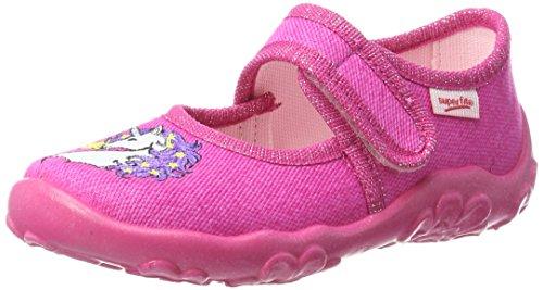 Superfit Mädchen Bonny Niedrige Hausschuhe, Pink (Pink), 26 EU