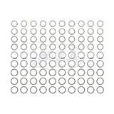 Set Ausgleichsscheiben, je 10x Stück, Gesamt: 90 Stück für Soemtron-Motor SR1, SR2, SR2E, KR50, SR4-1 Spatz - zur Kurbelwelle und Abtriebswelle -