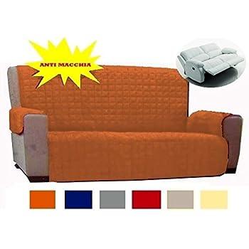 Copridivano 2 posti divano con braccioli e senza braccioli anche per divani relax corda - Copridivano per divano relax ...