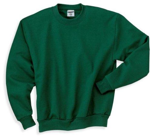 Hockey Symbol auf American Apparel Fine Jersey Shirt Grün