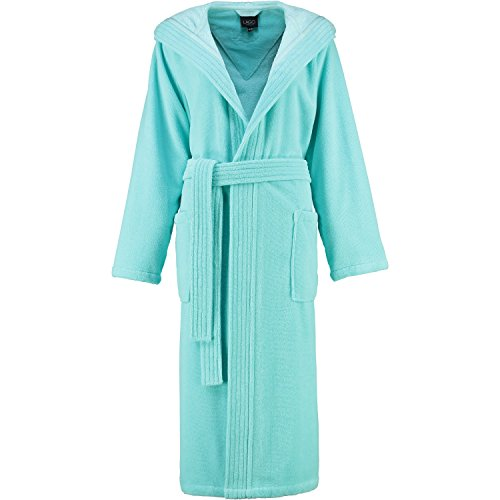 Michaelax-Fashion-Trade -  Accappatoio  - Basic - Maniche lunghe  - Donna Blue - Türkis (40)