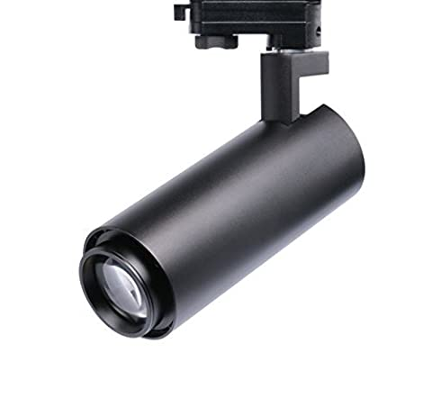 Cocoweb Minimal Gallery Series Track Light with Adjustable Focus in