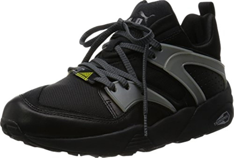 Puma Blaze Of Glory Unisex Leder Sneakers  Schwarz