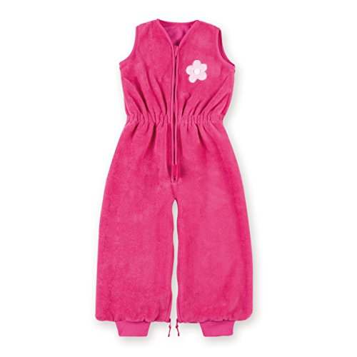 BEMINI Gigoteuse Magic bag sans manche motifs petites fleurs rose en Bamboo, 9/24 mois
