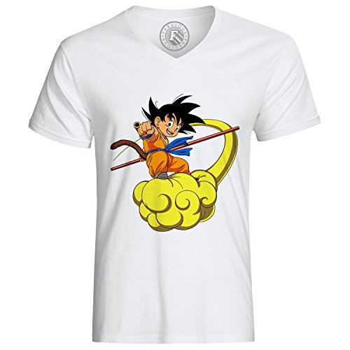T-Shirt Dragon Ball Goku Kinto DBZ Manga Sayan