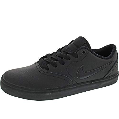 Nike Herren Sb Check Solar Sneakers, Schwarz Black 009, 44.5 EU (Nike Wildleder Sneakers)